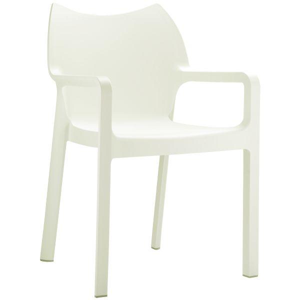 Design stoel Diva beige