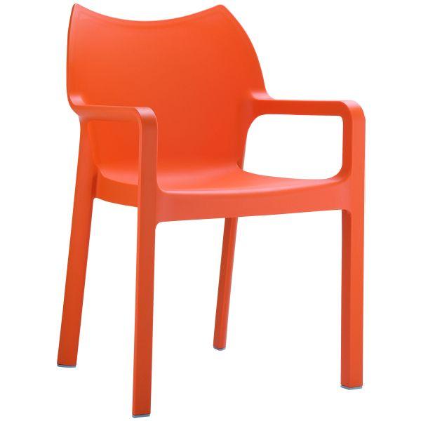 design stoel diva oranje 1