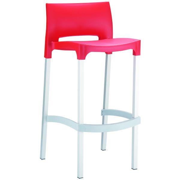 Design barkruk Gio rood