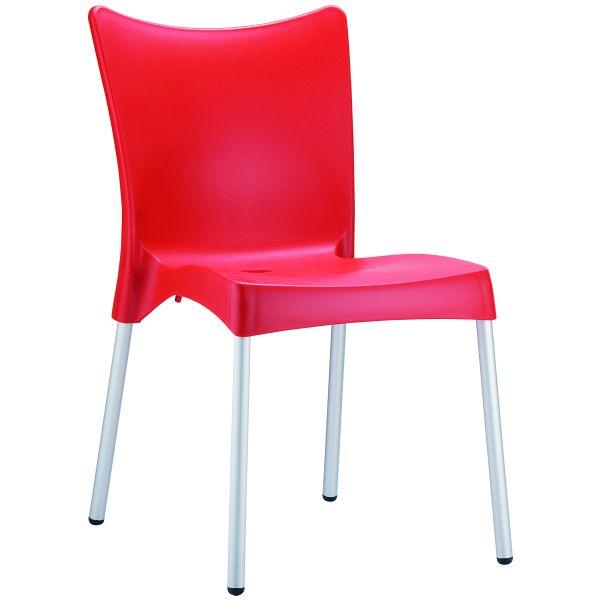 Designstoel juliette rood