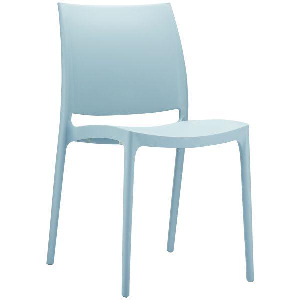 stoel maya zilvergrijs 6069