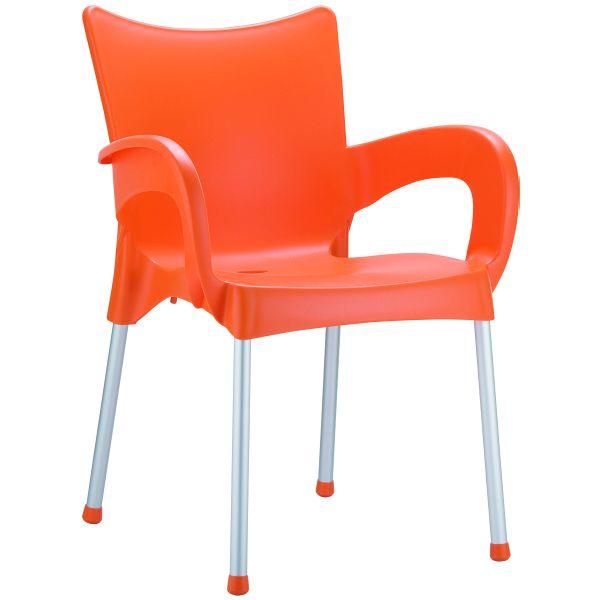Designstoel Romeo oranje 1