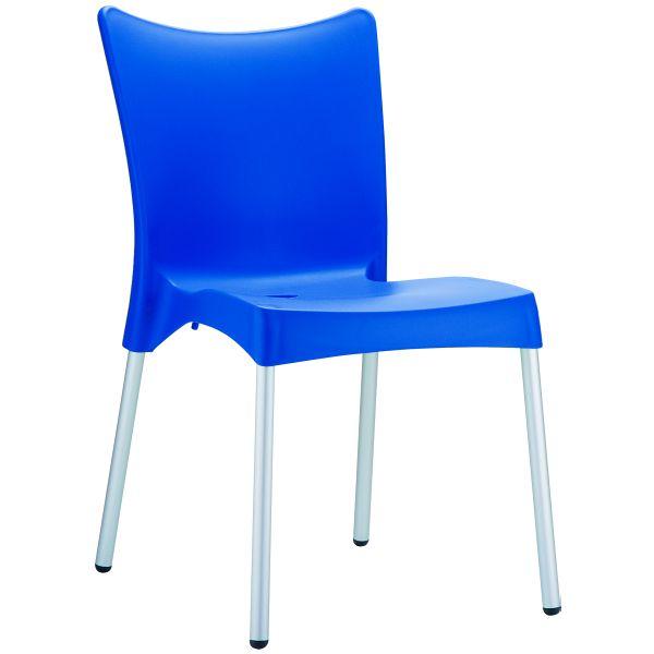 Designstoel Juliette blauw