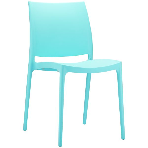 stoel maya lichtblauw 6045
