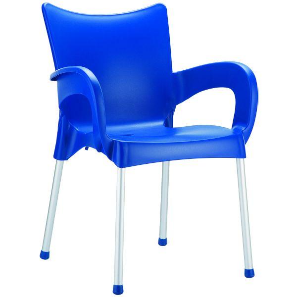 Designstoel Romeo blauw