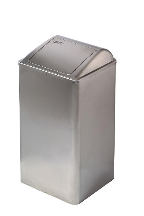 RVS 65 liter afvalbak van Mediclincs PP0065CS voor medische, zorginstelling of polikliniek (1)