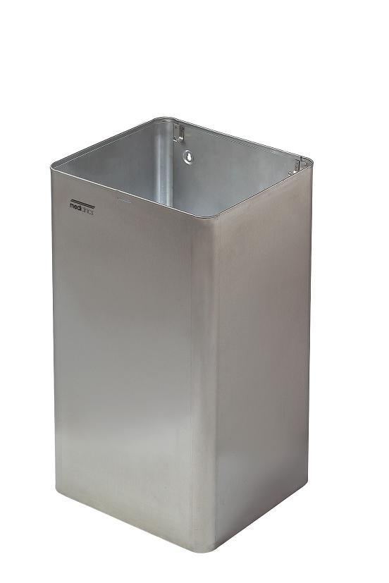 Afvalbak RVS 65 liter openmodel Mediclinics PP1065CS/ topkwaliteit en scherpe prijs (1)