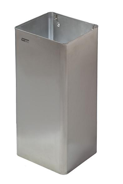 RVS afvalbak 80 liter PP1080CS Mediclinics open model/ goede kwaliteit voor horeca, zorginstelling of kantine (1)