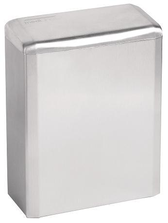 Sanitaire en hygiëne afvalbak RVS hoogglans 6 liter van Mediclinics (1)