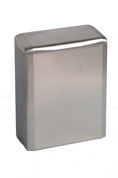 Mediclinics hygiëne bak RVS 6 liter PP0006CS met klepdeksel/ voor sanitaire omgeving (1)