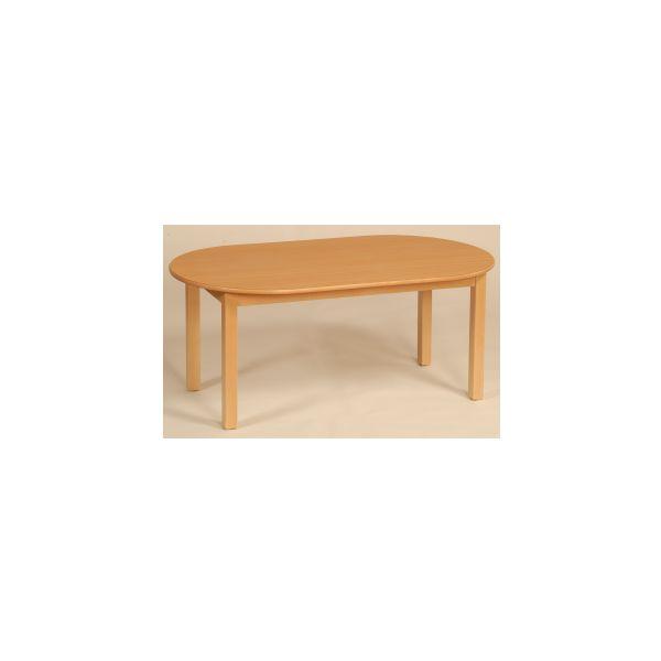 houtentafel ovaal