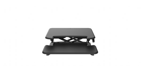 Zit-sta module small zwart voor ieder bureau (1)