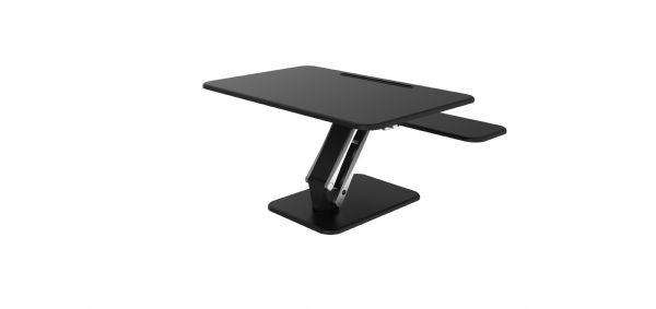 Zit-sta module Large kleur zwart voor ieder bureau (1)