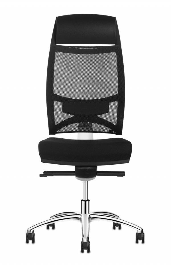 Bureaustoel Team Strike manager met PU hoofdsteun met zeer comfortabele zit en voordelig geprijsd (1)