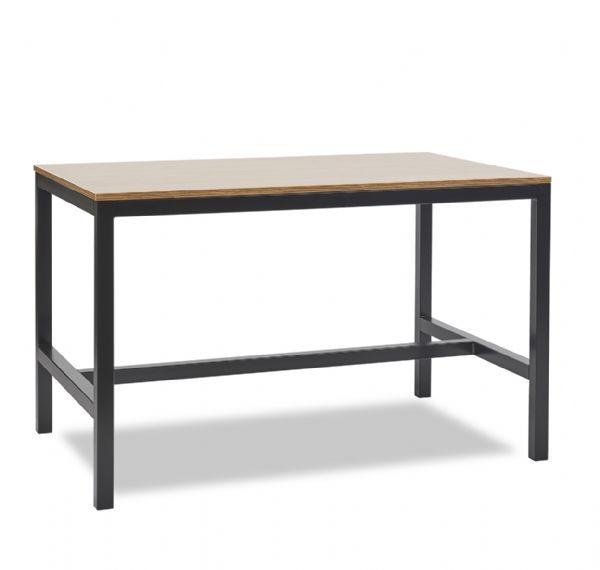 Tafel Solid model 1410 120x80cm en keuze uit 10 bladkleuren (1)