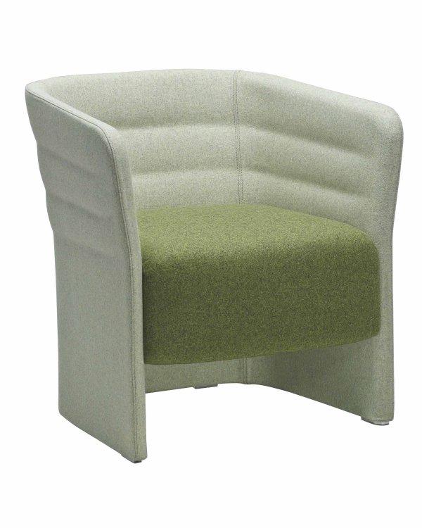 Schitterende Lounge stoel of fauteuil CELL 72 gesloten model (1)