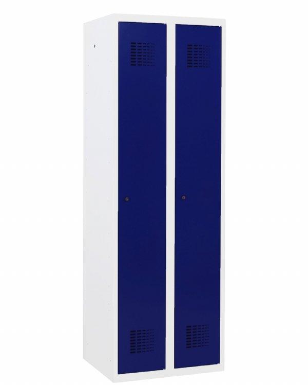 Voordelige garderobekast 2 deurs 180x60x50cm ( HxBXD ) in vele ral kleuren leverbaar (1)