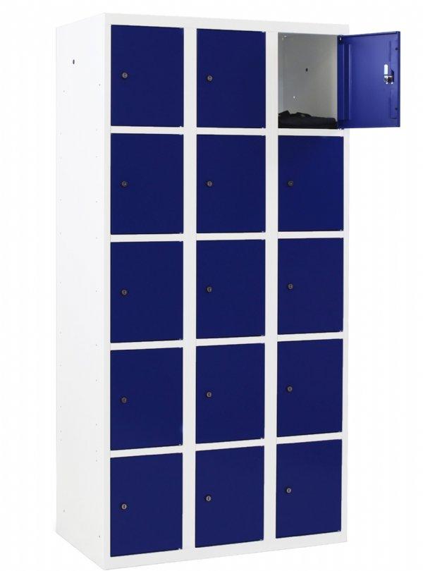 Locker Classic 15 vakken en deuren voor veilig opbergen persoonlijke spullen en kleding (1)