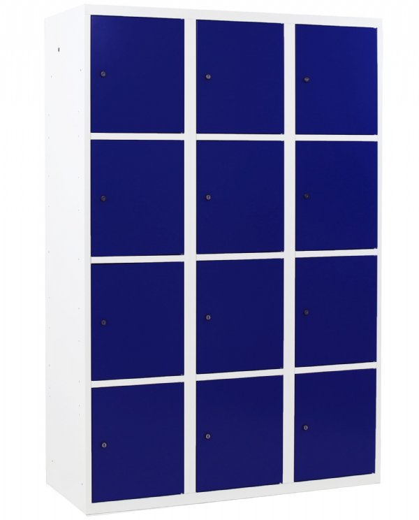Lockerkast 12 vakken en deuren in vele Ral kleuren voor beste prijs (1)