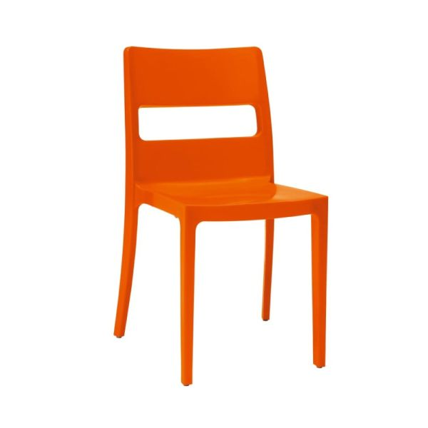 designstoel sai oranje