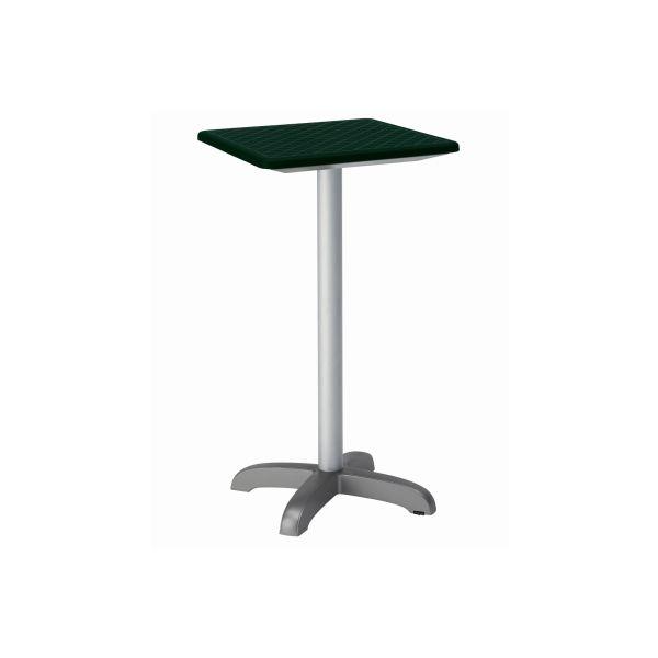 designtafel Dodo 110cm hoog vierkant bosgroen