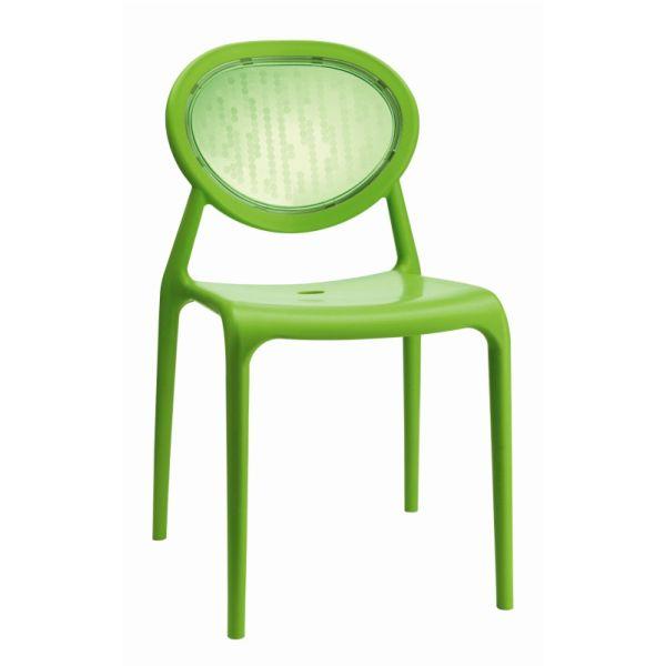 Super Gio designstoel SCAB pistache/transparant groen 2316208
