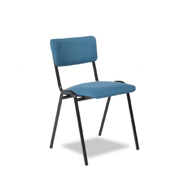 Kantine of bezoekersstoel PURE model 3304 gestoffeerd in 8 frame kleuren (1)