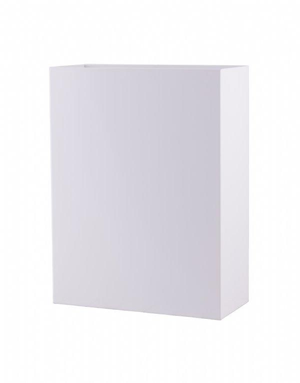 Open afvalbak Dutch Bins 25 liter wit CLB25L-P voor diverse sanitaire ruimten (1)
