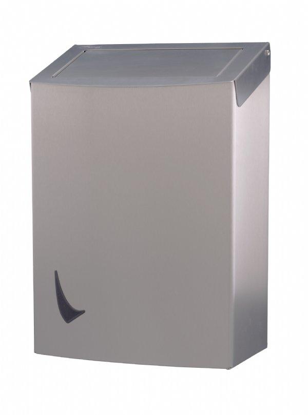 Hoogwaardige RVS afvalbak 20 liter Wings met pushdeksel en anti-fingerprint coating (1)