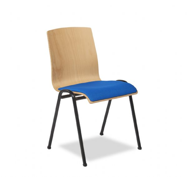 Kantinestoel Style stoel 4422 met stoffen zitting (1)