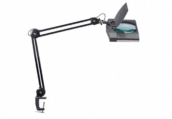 Maul led loeplamp maulvitrum zwart met tafeklem 8265090 / energie zuinig (1)