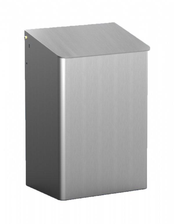 15 liter afvalbak MediQo-line aluminium MQWB15A voor diverse hygiënische doeleinden (1)