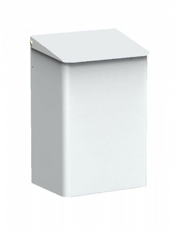 Afvalbak MediQo-line wit 15 liter MQWB15P voor hoog niveau hygiëne (1)