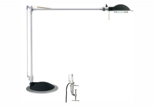 Maul bureaulamp halogeen maulbusiness zwart/zilver  8225095 (1)