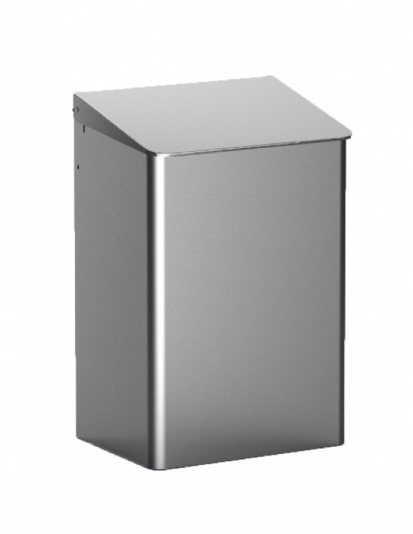 RVS afvalbak 15 liter MediQo-line MQWB15E/ top kwaliteit voor hygiene oplossingen (1)
