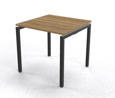 Bureau 80x80cm Arca 4-poot keuze uit divers frame en bladkleuren (1)