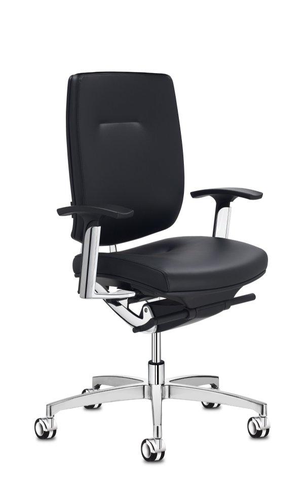 Spirit bureaustoel met armleggers / strak Italiaans design en vele opties (1)