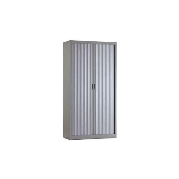 Roldeurkast 195x100cm ral 9006 aluminium chs 195-100