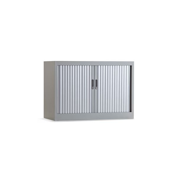 Roldeurkast 70x100cm ral 9006 aluminium chs 70-100
