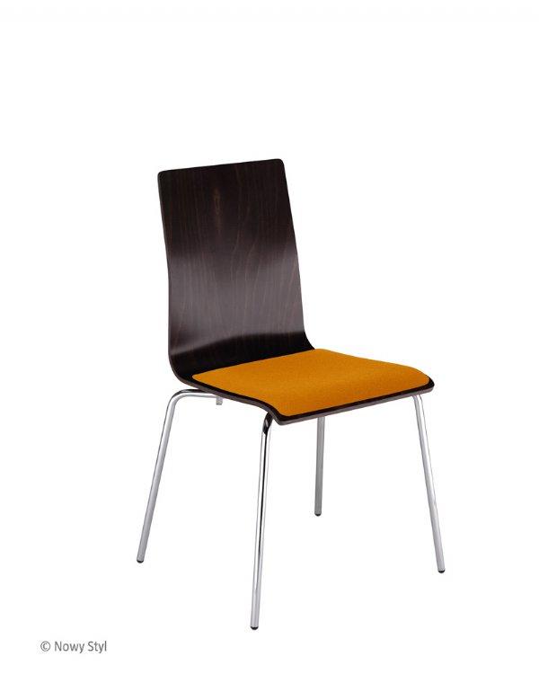 Cafe VII stoel van Nowy Styl met gestoffeerde zitting (1)
