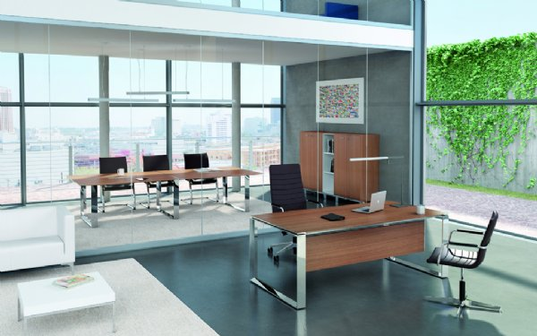 Directie meubel Officity X7 200x100cm model Closed in diverse kleuren (1)