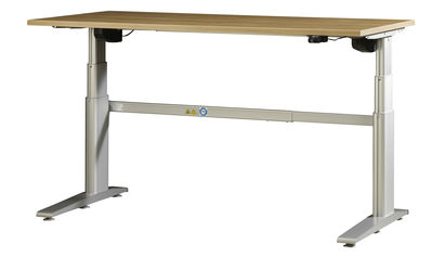 Elektrisch inhoogte verstelbaar zit sta bureau flex 2 120x80cm