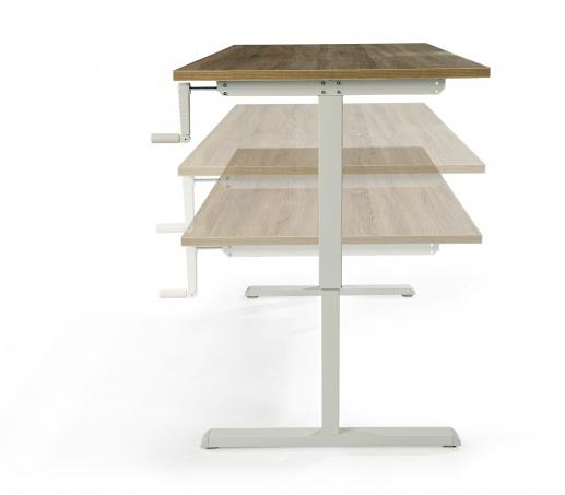 Goedkope zit-sta Flex Light 180x80cm bureau met slinger | snelle levertijd en scherpe prijs (1)