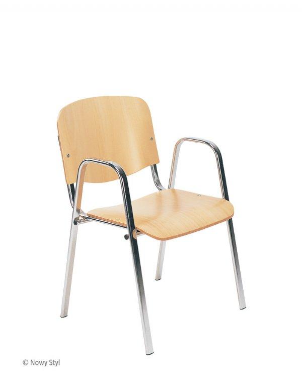 Nowy styl ISO W stoel met armleggers