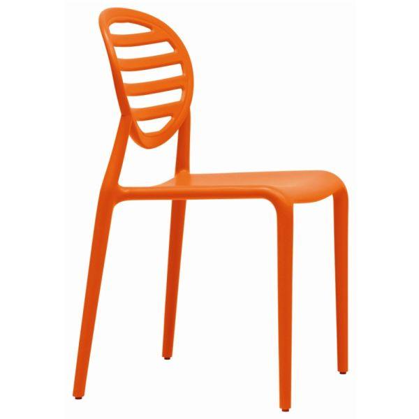 Top Gio designstoel oranje 231730