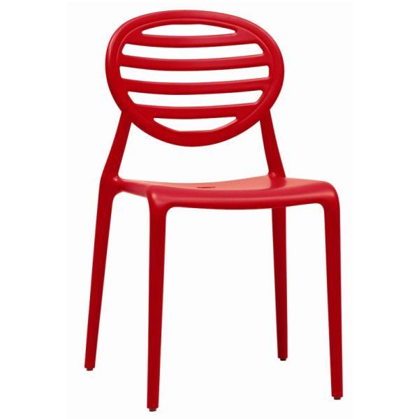Top Gio designstoel rood 231740