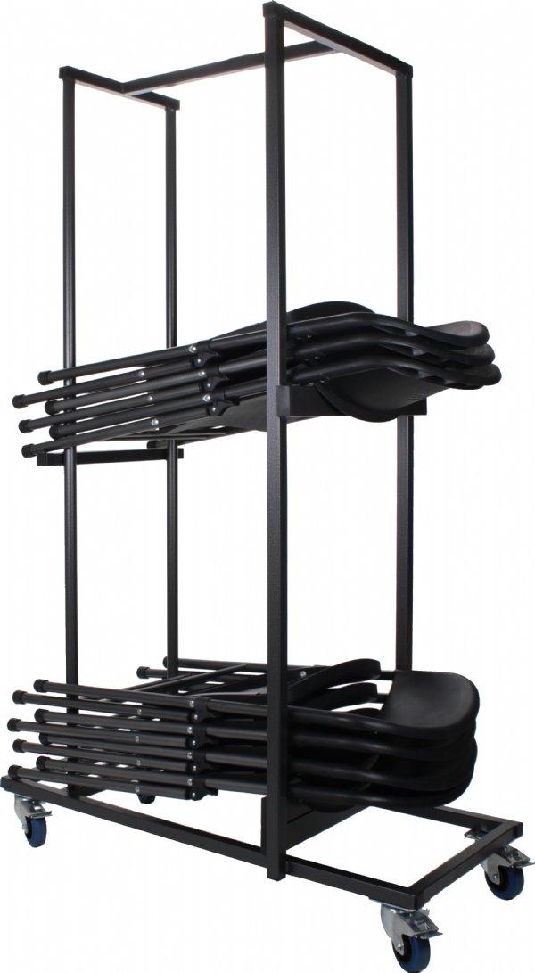 Transportkar voor klapstoel basic | oplossing voor  grote stapels klapstoelen (1)