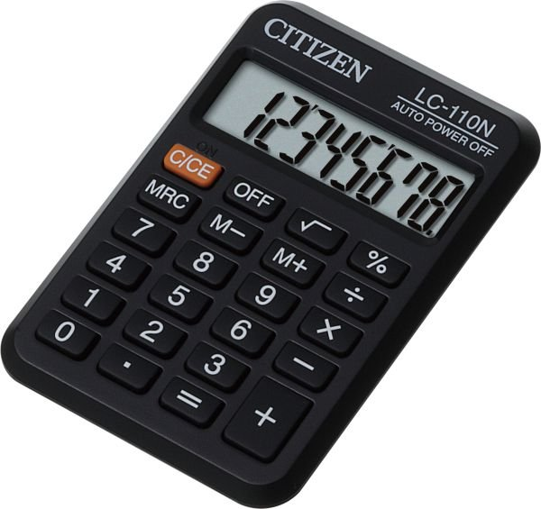 Citizen zakrekenmachine  LC110 (1)