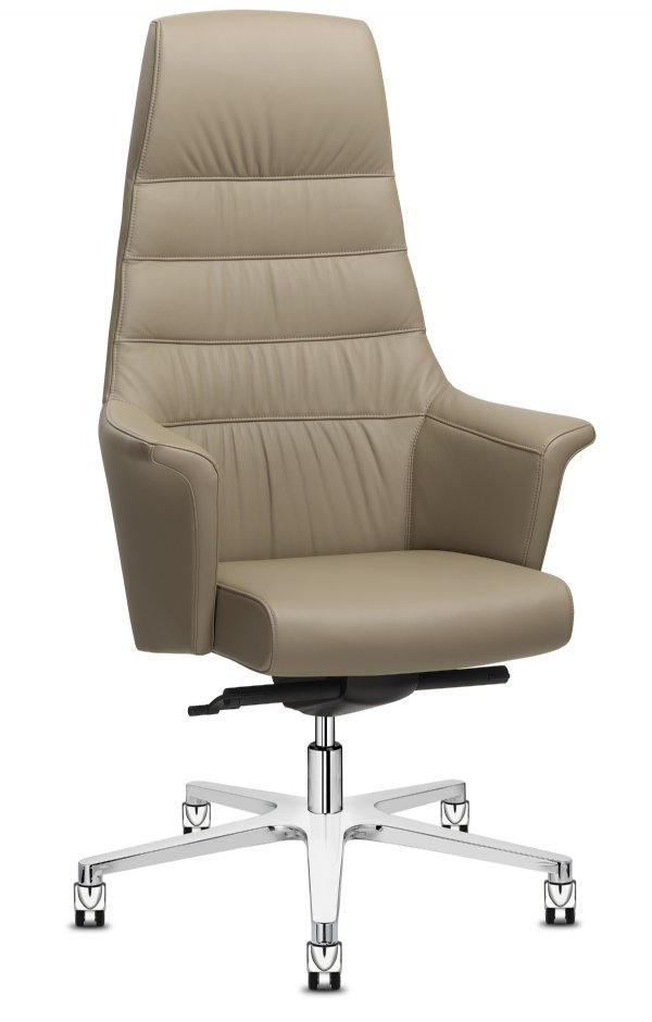 Directiestoel Of Course executive high back Italiaans top design en comfortabele zitting (1)