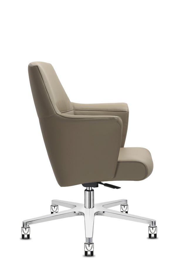 Manager bureaustoel Of Course low back / top design stoel voor iedere werkplek met uitstraling (1)